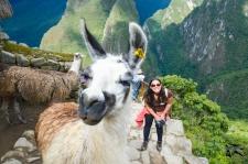 Selfie da Llama